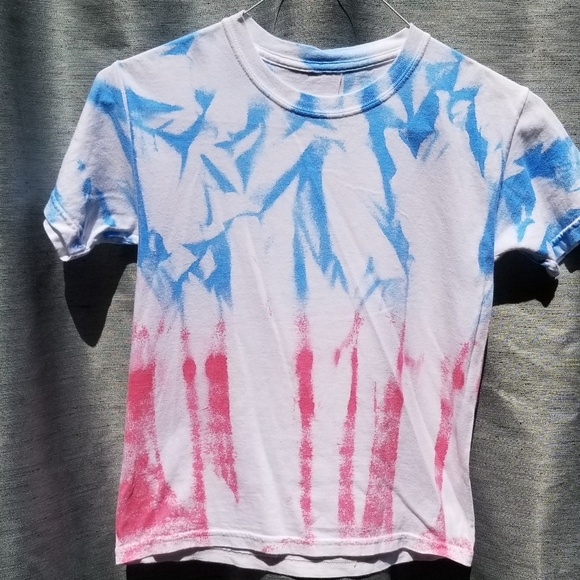 Other - Boys White/Red/Blue SS Cotton Tee Shirt